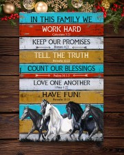Horse Girl In This Family We Work Hard  11x17 Poster aos-poster-portrait-11x17-lifestyle-22