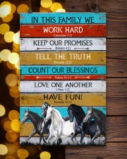 Horse Girl In This Family We Work Hard  11x17 Poster aos-poster-portrait-11x17-lifestyle-24