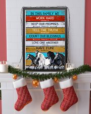 Horse Girl In This Family We Work Hard  11x17 Poster lifestyle-holiday-poster-4