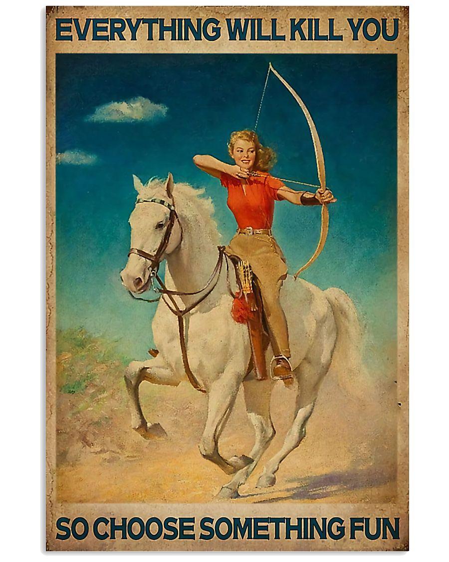 Archery - Choose Something Fun 11x17 Poster