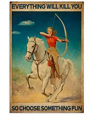 Archery - Choose Something Fun 11x17 Poster front