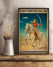 Archery - Choose Something Fun 11x17 Poster lifestyle-poster-3