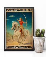 Archery - Choose Something Fun 11x17 Poster lifestyle-poster-8
