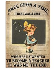 There Was A Girl Who Wanted To Become A Teacher 11x17 Poster front