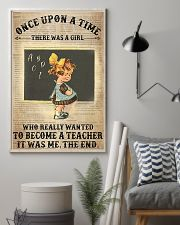 There Was A Girl Who Wanted To Become A Teacher 11x17 Poster lifestyle-poster-1