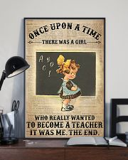There Was A Girl Who Wanted To Become A Teacher 11x17 Poster lifestyle-poster-2