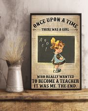 There Was A Girl Who Wanted To Become A Teacher 11x17 Poster lifestyle-poster-3