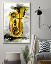Tubist Tuba Watercolor 11x17 Poster lifestyle-poster-1