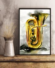 Tubist Tuba Watercolor 11x17 Poster lifestyle-poster-3