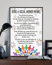 Being A Social Workers Mean Poster 11x17 Poster lifestyle-poster-2
