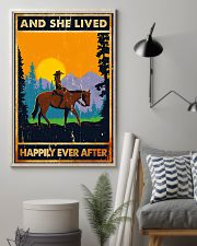 Horse Girl And She Lived Happily Ever After 11x17 Poster lifestyle-poster-1