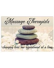 Massage Therapists Changing Lives 17x11 Poster front
