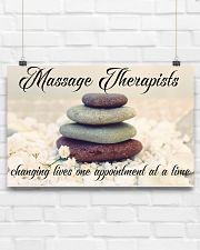 Massage Therapists Changing Lives 17x11 Poster poster-landscape-17x11-lifestyle-17
