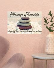 Massage Therapists Changing Lives 17x11 Poster poster-landscape-17x11-lifestyle-22