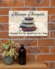 Massage Therapists Changing Lives 17x11 Poster poster-landscape-17x11-lifestyle-23