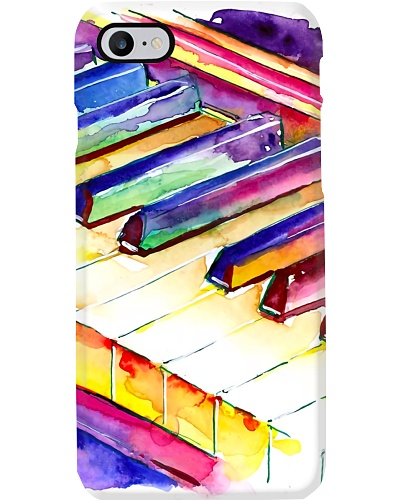 Pianist Colorful Piano Keyboard