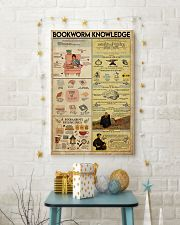 Librarian Bookworm Knowledge 11x17 Poster lifestyle-holiday-poster-3