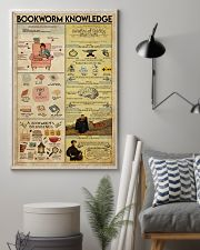 Librarian Bookworm Knowledge 11x17 Poster lifestyle-poster-1