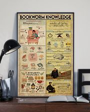 Librarian Bookworm Knowledge 11x17 Poster lifestyle-poster-2