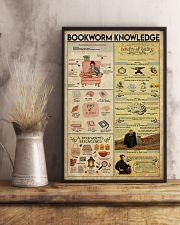 Librarian Bookworm Knowledge 11x17 Poster lifestyle-poster-3
