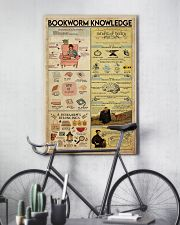 Librarian Bookworm Knowledge 11x17 Poster lifestyle-poster-7