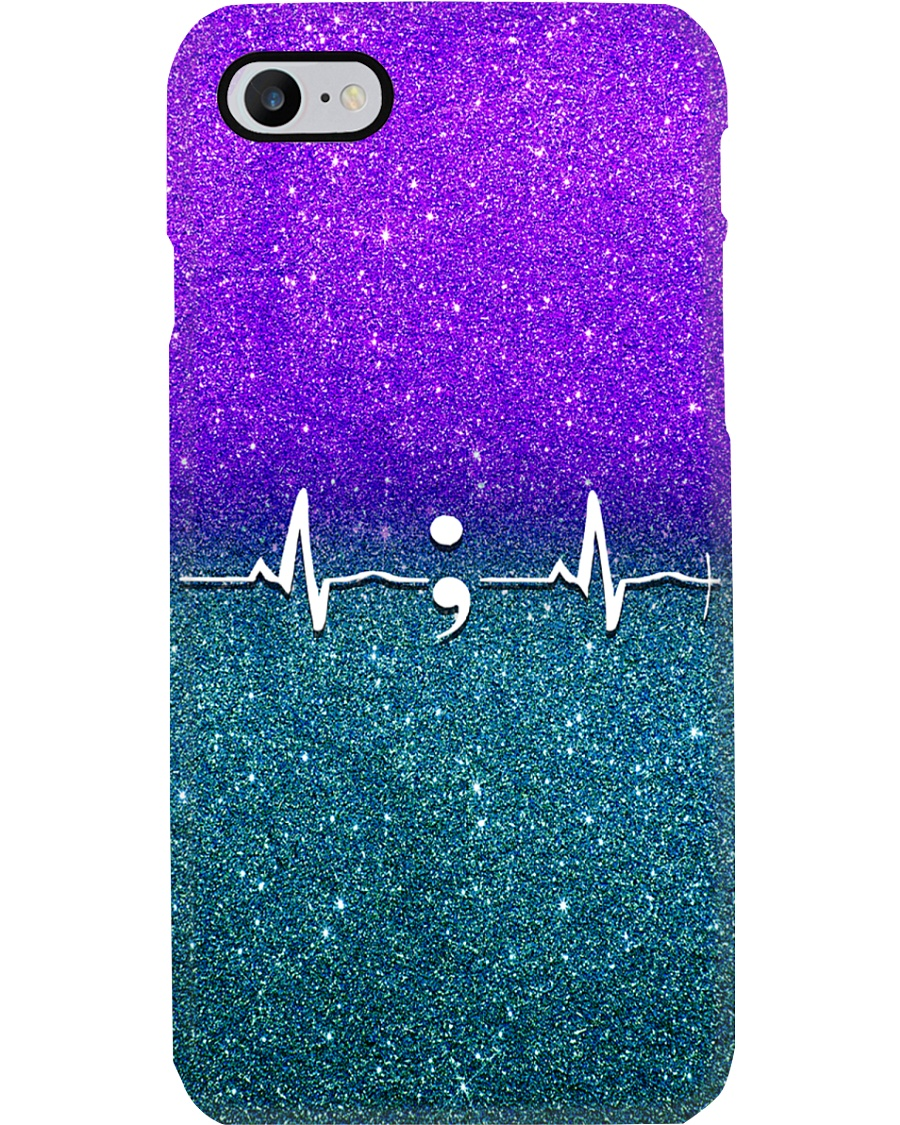Suicide Prevention Heartbeat  Phone Case