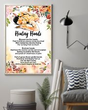 Massage Therapist Healing Hands Poster 11x17 Poster lifestyle-poster-1