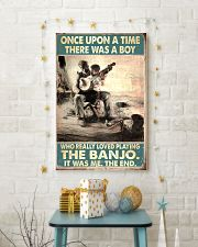 Banjo Vintage Boy 11x17 Poster lifestyle-holiday-poster-3