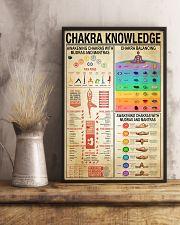 Yoga Chakra Knowledge 11x17 Poster lifestyle-poster-3