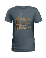 Trumpet Hot Air Ladies T-Shirt thumbnail