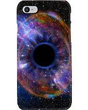 Human Eye Abstract Galaxy Optometrist Phone Case i-phone-7-case