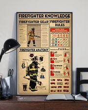 Firefighter Knowledge 11x17 Poster lifestyle-poster-2
