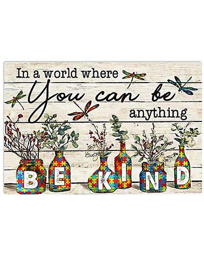 Autism In A World You Can Be Anything Be Kind