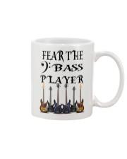 Hear The Bass Guitar Player Mug front