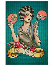Hairdresser Live Fast Dye Pretty 11x17 Poster front