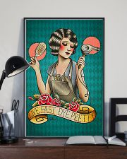 Hairdresser Live Fast Dye Pretty 11x17 Poster lifestyle-poster-2