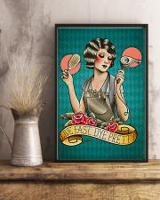Hairdresser Live Fast Dye Pretty 11x17 Poster lifestyle-poster-3