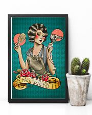 Hairdresser Live Fast Dye Pretty 11x17 Poster lifestyle-poster-8