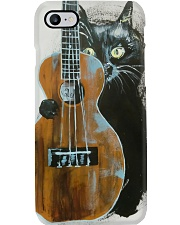 Black Cat Ukulele  Phone Case i-phone-7-case