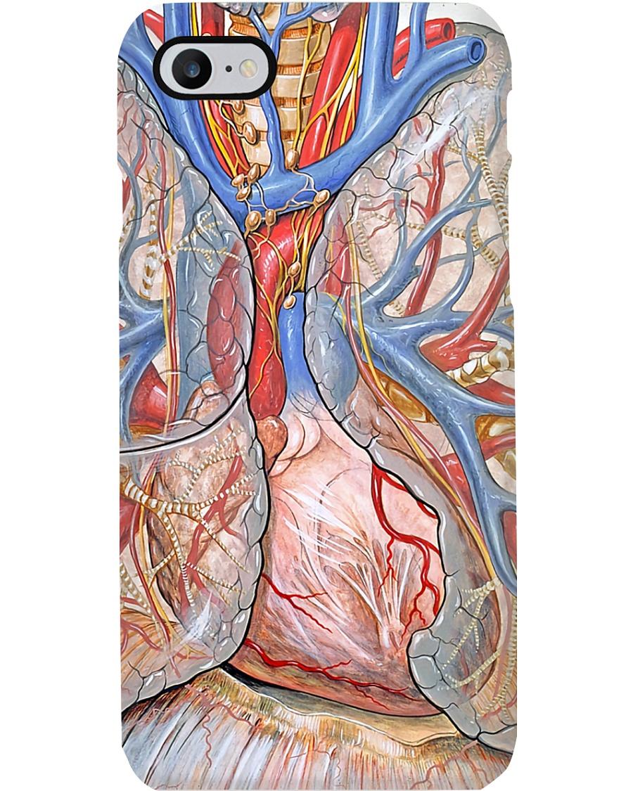 Anatomy Human Heart Paramedic Phone Case