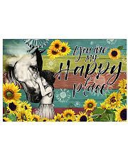 Horse Girl - You Are My Happy Place 17x11 Poster front