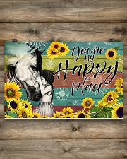 Horse Girl - You Are My Happy Place 17x11 Poster poster-landscape-17x11-lifestyle-14