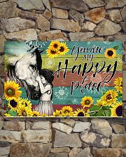 Horse Girl - You Are My Happy Place 17x11 Poster poster-landscape-17x11-lifestyle-16