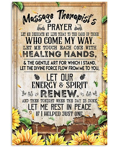 Massage Therapist's Prayer