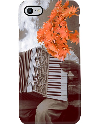 Accordionist and Daisy
