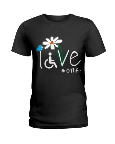 Occupational Therapist life Love Flower