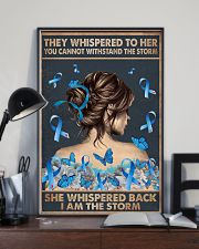 Diabetes I Am The Storm 11x17 Poster lifestyle-poster-2