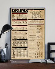 Drummer unique poster 11x17 Poster lifestyle-poster-2