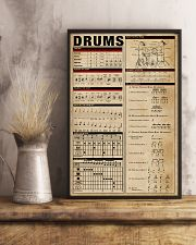 Drummer unique poster 11x17 Poster lifestyle-poster-3