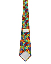 Autism Awareness Colorful Puzzles Tie back